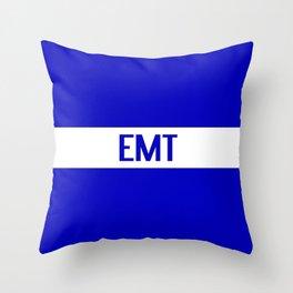 EMT: The Thin White Line Throw Pillow