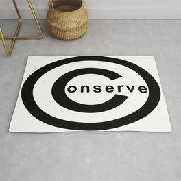 conserve copyright Rug
