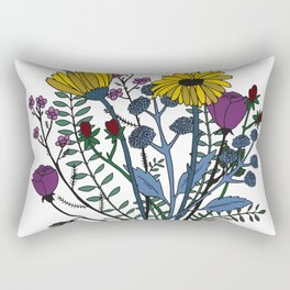 Flowers Rectangular Pillow
