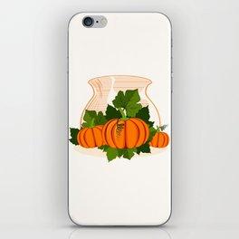 C13D Its Pumpkin Time iPhone Skin