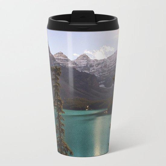 Reflections / Landscape Nature Photography Metal Travel Mug