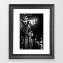 Night Time Moment Framed Art Print
