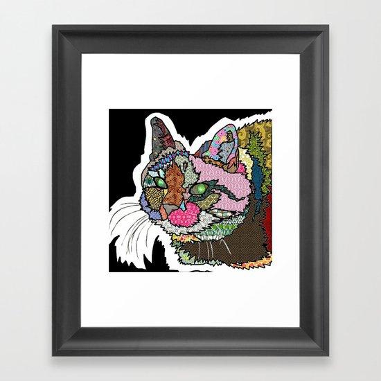 Mi Otra Gato Muerto Framed Art Print