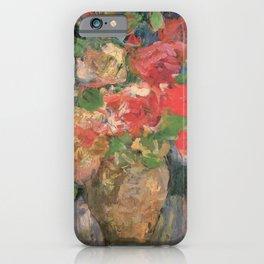 Kida Kinjiro - Roses II (1960) iPhone Case