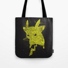 Yellow Monster Tote Bag
