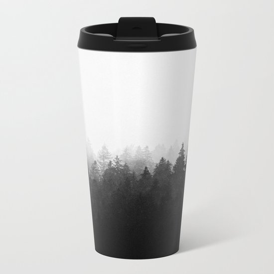 A Wilderness Somewhere Metal Travel Mug