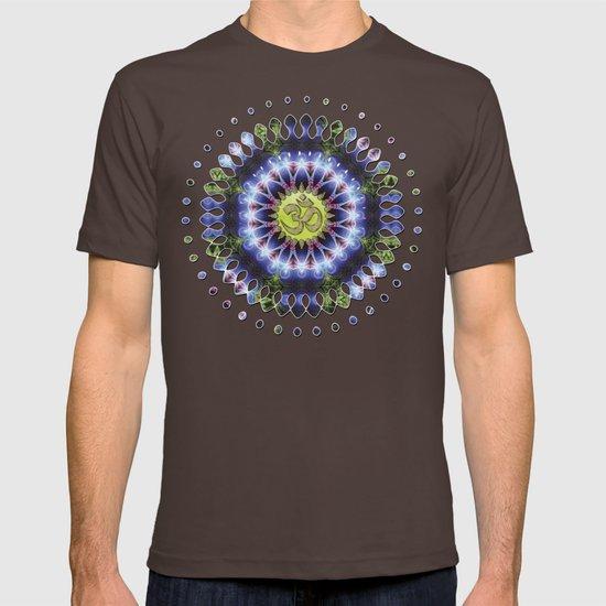 Om Shanti Fractal Geometry series #1 T-shirt