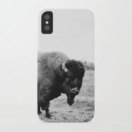 Alaska Bison iPhone Case