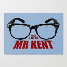 Mr Kent Canvas Print