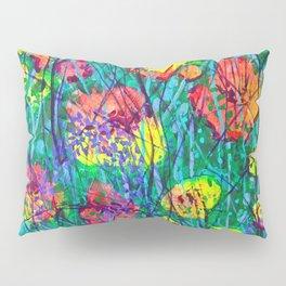 Hidden Flowers Pillow Sham