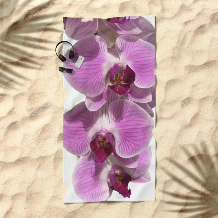 Bodacious bloom Beach Towel