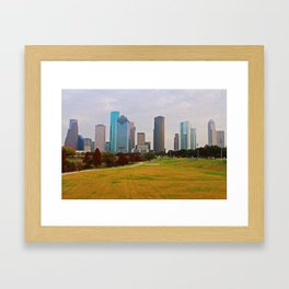 Industrial Autumn Framed Art Print