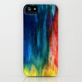 Spring Yeah! - Abstract paint 1 iPhone Case