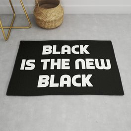 BLACK IS THE NEW BLACK Rug