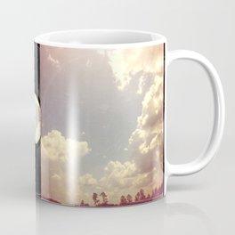 Summer Skies As Vintage Album Art Coffee Mug