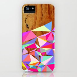 Wooden Multi Geo iPhone Case