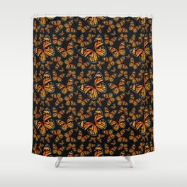 Monarch Butterflies | Monarch Butterfly | Vintage Butterflies | Butterfly Patterns | Shower Curtain