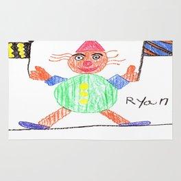 Race Clown Rug