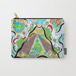 Cosmic Pyramids Carry-All Pouch