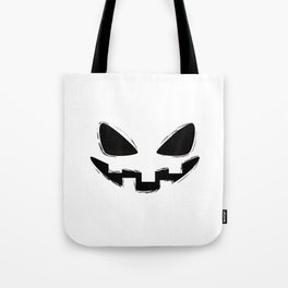 Pumpkin Spice Grin Tote Bag