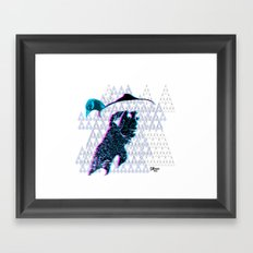 tewa girl Framed Art Print