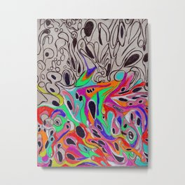 Psychedelic Vacui  Metal Print