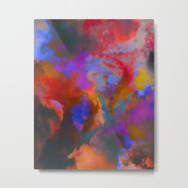 Colorful clouds in the sky V Metal Print