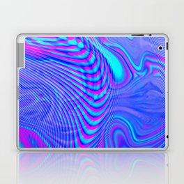 GLITCH MOTION WATERCOLOR OIL Laptop & iPad Skin