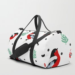 winter pattern I Duffle Bag