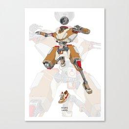 Mars Yard Canvas Print