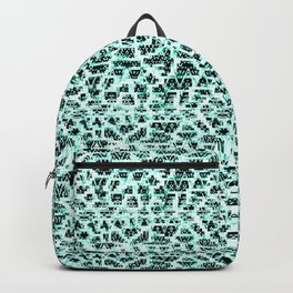 Slight Connections Pattern Backpack