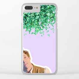 Newt Scamander 3 Clear iPhone Case
