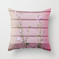 finland Throw Pillows featuring Porvoo I- Finland by Cynthia del Rio