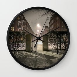 Winter is apparently already here Wall Clock