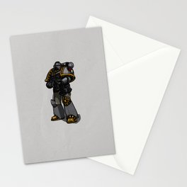 Space Marine Stationery Cards