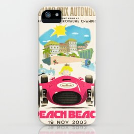 Peach Beach Grand Prix iPhone Case