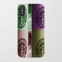 starbucks iPhone & iPod Cases featuring Starbucks  by Chris Thaxter