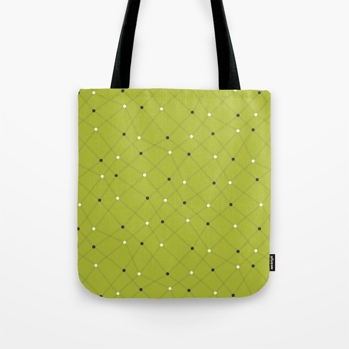 Chemistry Class Doodles - Lime Tote Bag