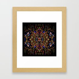 Journey To The Centre Of A Brain Fart Framed Art Print