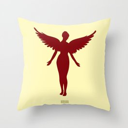 In Utero Throw Pillow