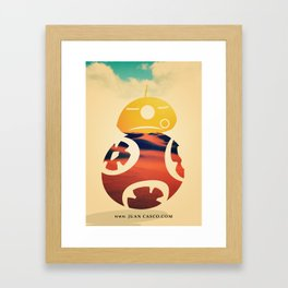 Desert Poster Framed Art Print