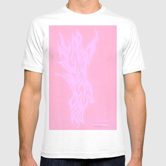pink fire T-shirt