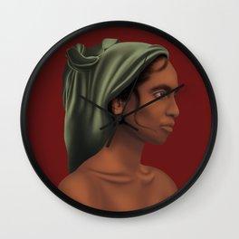 LadyinGreenSlayer Wall Clock