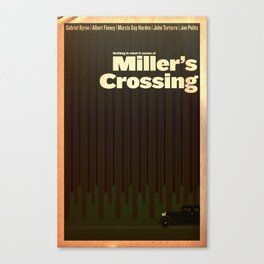 Film Friday No. 3, Miller's Crossing Canvas Print