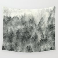 grunge Wall Tapestries featuring Everyday by Tordis Kayma
