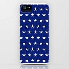 Neck Gaiter America Blue White Stars Face Mask Bandana Balaclava Headband Made in the USA iPhone Case