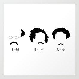 Quantum Physicists Art Print