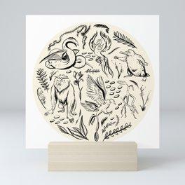 Fantastic Beasts Mini Art Print