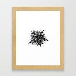 GR1N-FL0W3R (Grin Flower) Framed Art Print