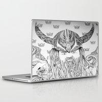 viking Laptop & iPad Skins featuring Viking by Infra_milk